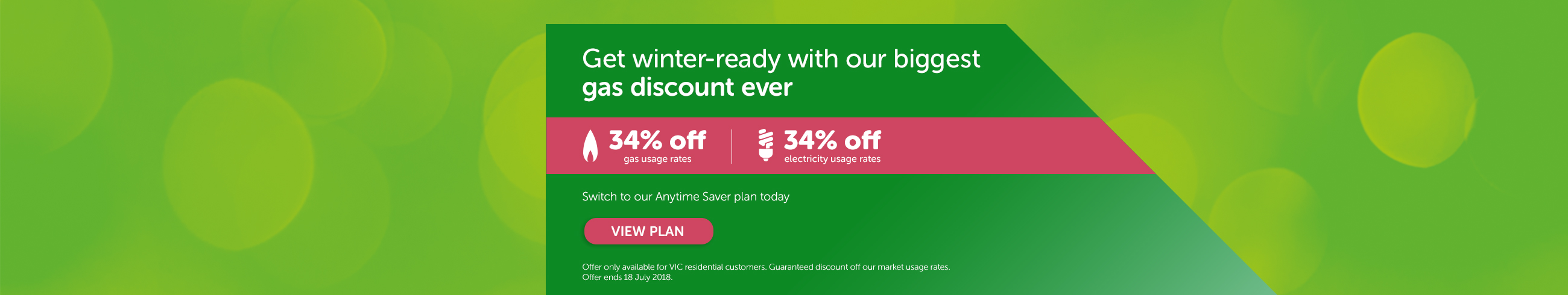 Get winter-ready with our biggest gas discount ever