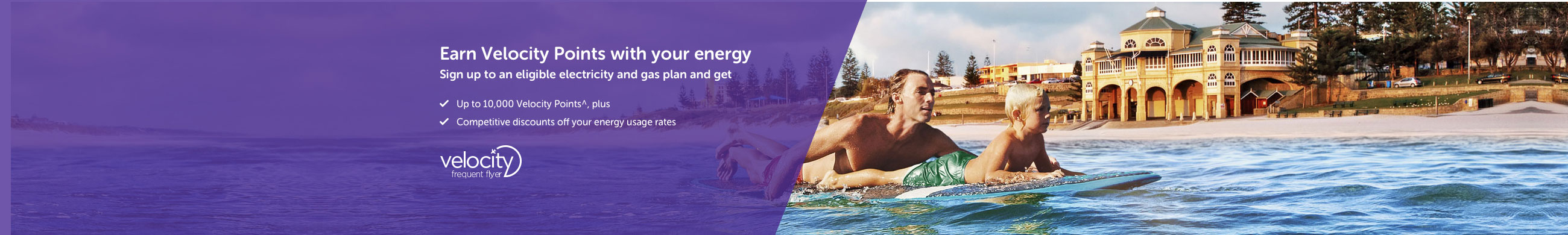 Earn Velocity Points with your home energy
