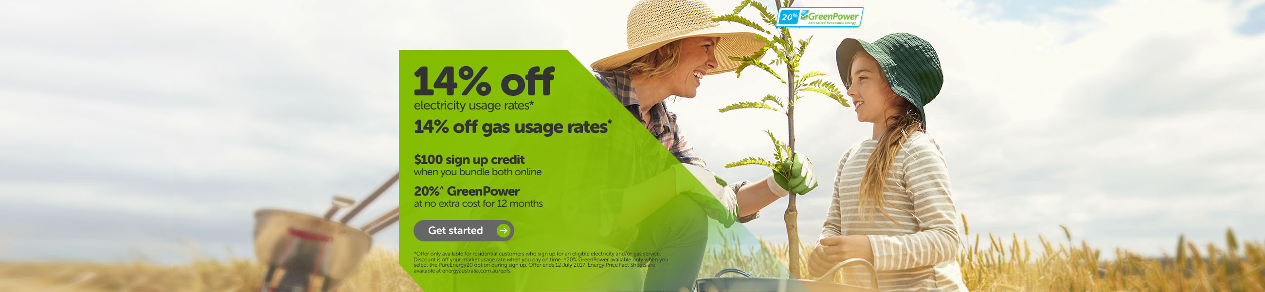 ACT Dual fuel offer
