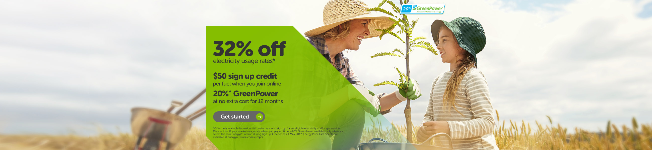 Get our best rates today and be greener at no extra cost for tomorrow.