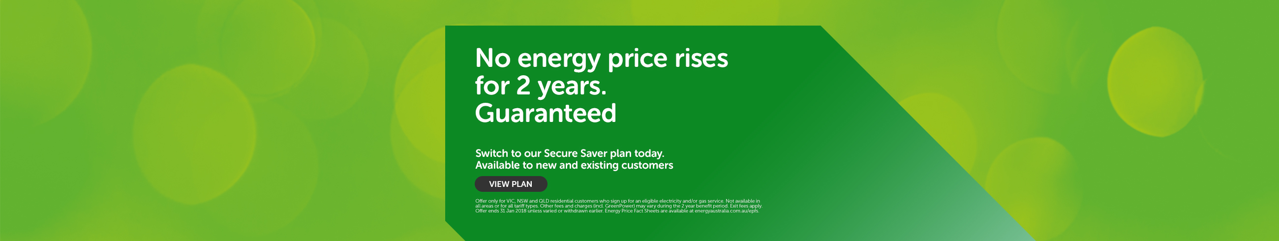 No energy price rises for 2 years. Guaranteed
