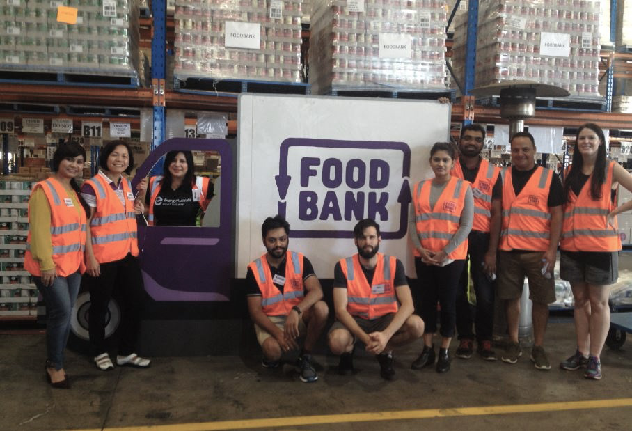 Volunterring day - Food bank