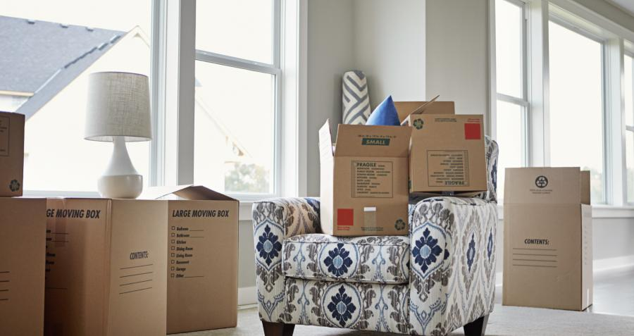 How to pack when moving house