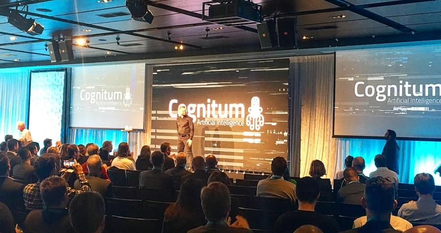 Cognitum Pitching at the MCG