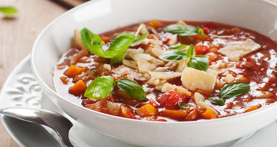 One-pot Minestrone - for when your kitchen's in boxes