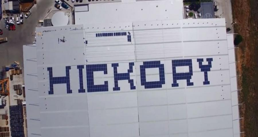 Hickory Industries Innovative EnergyAustralia Commercial Solar Installation
