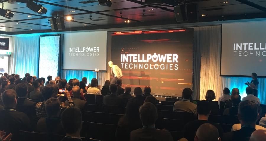 IntellPower pitching at the MCG