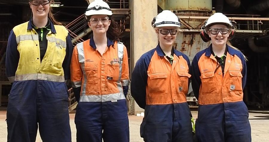 Yallourn apprentice group