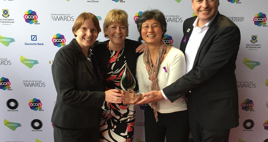 EA awarded most improved organisation at Australian LGBTI inclusion awards