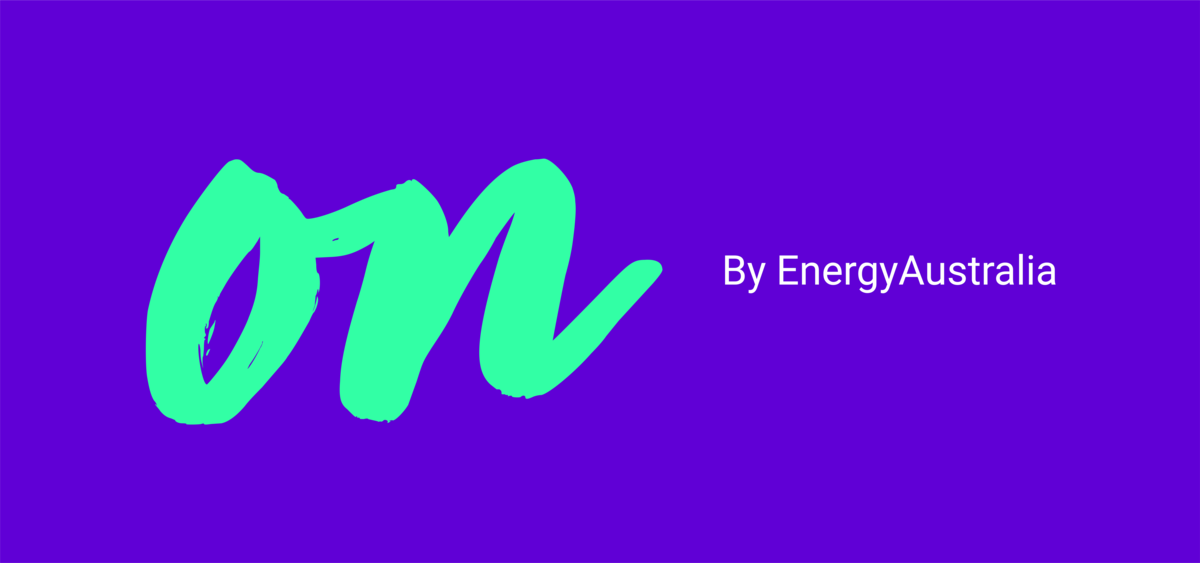 On by EnergyAustralia - Promo logo