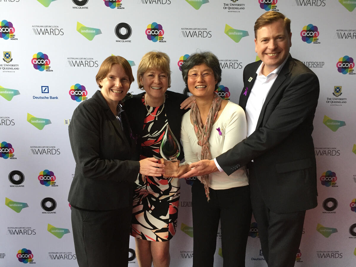 EnergyAustralia awarded most improved organisation at Australian LGBTI Inclusion Awards