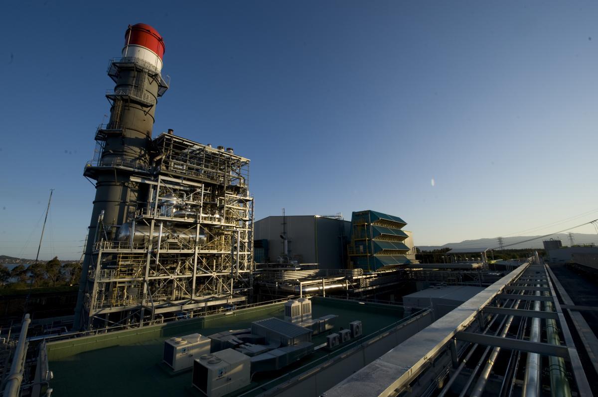Tallawarra Power Station Energyaustralia Plant General Layout