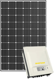 Trina solar panel with Enhpase inverter